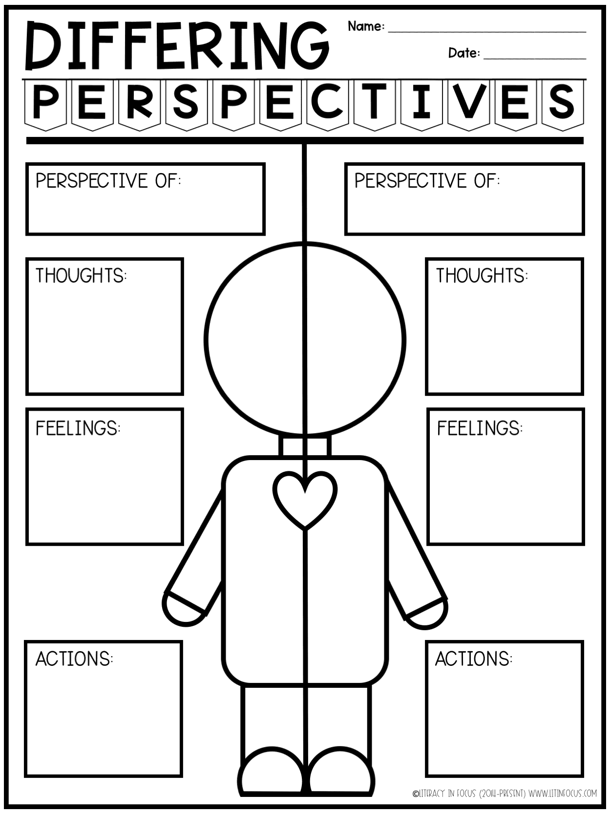 Differing Perspectives Graphic Organizer
