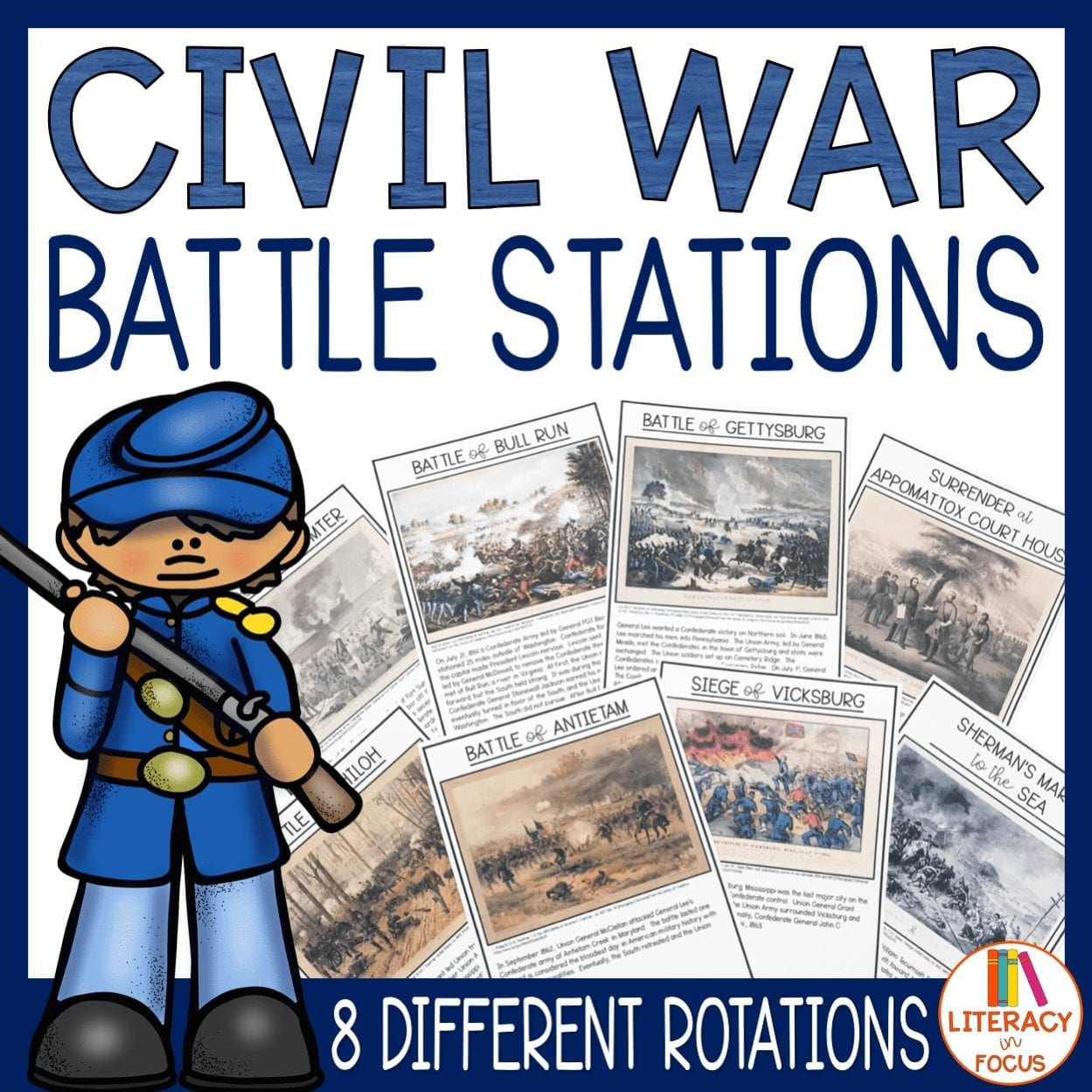 Civil War Battle Stations