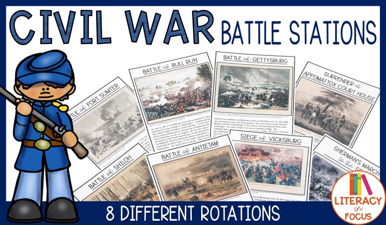 Civil War Battle Stations