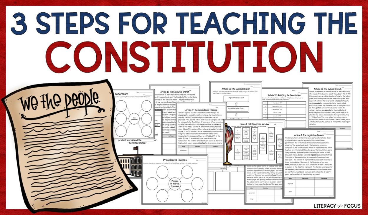 Constitution Workbook