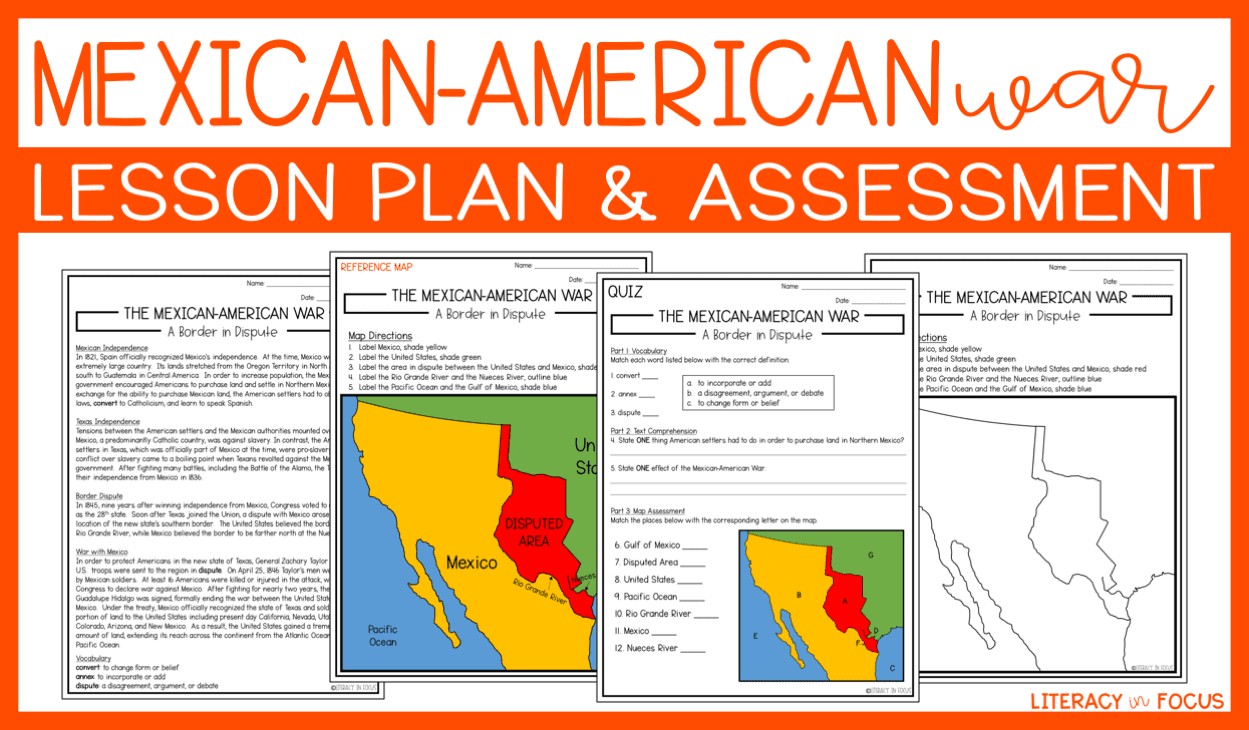 Mexican-American War lesson plan